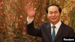 Ông Trần Đại Quang trong một sự kiện hồi đầu năm nay.