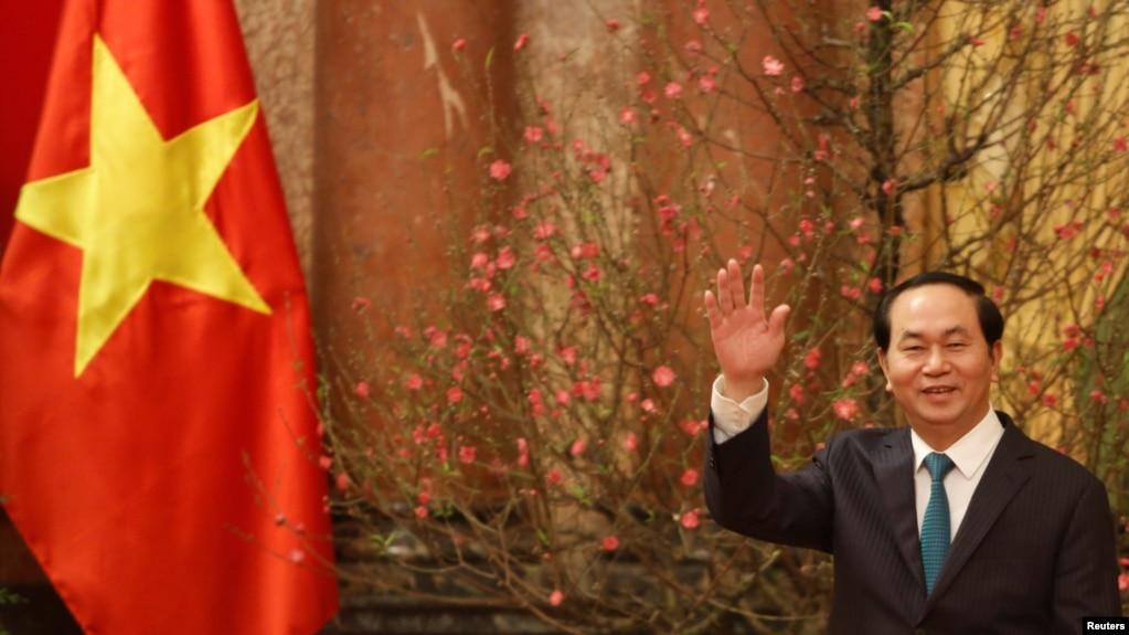 Trần Đại Quang, một trong ba quan chức được xác định là có vai trò chủ xướng trong việc soạn thảo và đệ trình Dự Luật An ninh mạng.