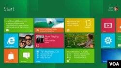 La nueva pantalla de inicio de Windows 8 está pensada para informarnos de un solo vistazo.