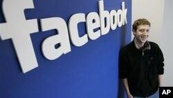 社交網站臉書共同創辦人馬克.扎克伯格