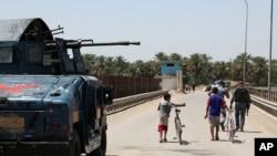 Iračka federalna policija u patroli