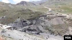 Tambang batu bara di provinsi Samangan, Afghanistan. (Foto: dok).