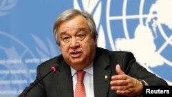 Thủ tướng Bồ Đào Nha Antonio Guterres.