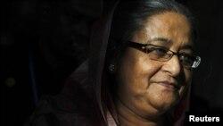 بنگلہ دیش کی وزیر اعظم شیخ حسینہ واجد