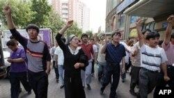Протест уйгурів