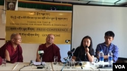 Golok Jigme Holds Press Conference in Dharamsala