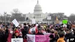 Марш против оружия в столице США