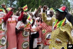 Kulabanye abasekela owayengumongameli uMnu. Robert Mugabe.