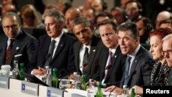 Các nguyên thủ quốc gia dự hội nghị NATO tại khu nghỉ mát Celtic Manor