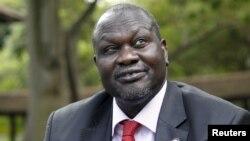 Pemimpin pemberontak Sudan Selatan, Riek Machar (foto: dok).