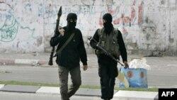 Патруль Хамаса в Газе.