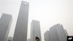北京到处都是高楼林立