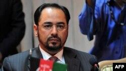 صلاح الدین ربانی، رئیس حزب جمعیت اسلامی و سرپرست وزارت افغانستان