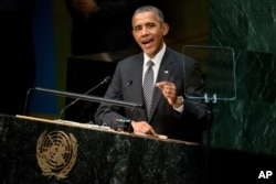 Barak Obama BMT-də çıxışı zamanı