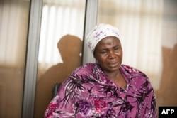 Yana Galang, mère de Rifkatu Galang, une des filles de Chibok, le 5 avril 2016.
