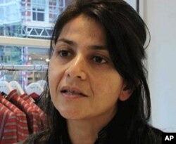 Afghan fashion designer Zolaykha Sherzad