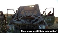 Archives - Cache d'armes de militants de Boko Haram à découverte Dikwa, Bornole 23 mai 2015