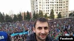 AXCP fəalı Baba Süleyman foto fəalın facebook səhifəsindən götürülüb
