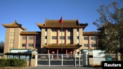 资料照:位于堪培拉的中国驻澳大利亚大使馆