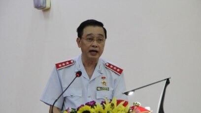 Ông Nguyễn Đức Hạnh, Phó tổng Thanh tra Chính phủ Việt Nam, tại hội nghị hôm 10/7/2017