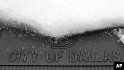 Snežnoi nevreme pogodilo je i grad Dalas, u Teksasu