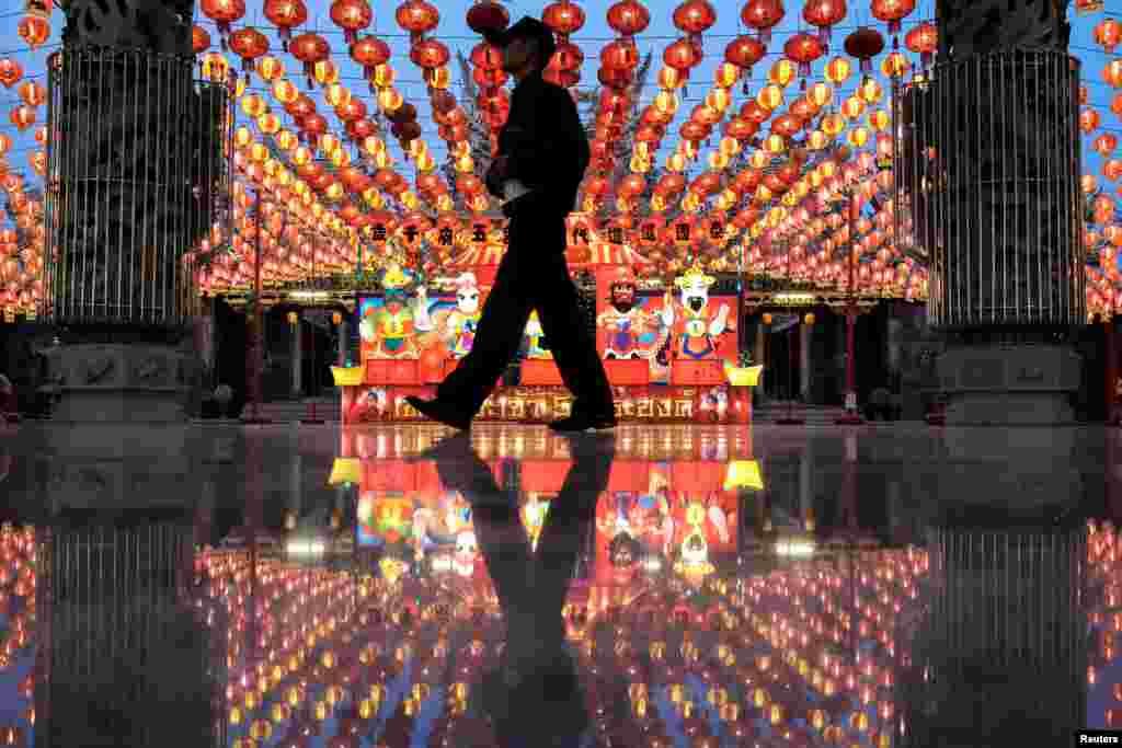 چین میں نئے قمری سال کے جشن کی تیاریاں عروج پر ہے۔