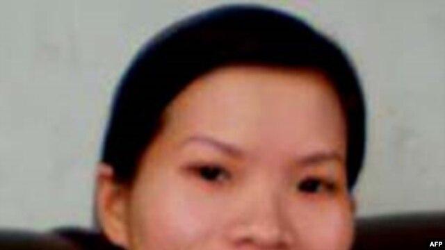 Cô Phạm Thanh Nghiên bị kết án 4 năm tù giam và 3 năm quản thúc trong một phiên toà kín tại Hải Phòng sáng 29-1-2010