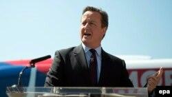 Waziri Mkuu wa Uingereza, David Cameron.
