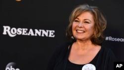 """La actriz Roseanne Barr a su llegada a la premiere de """"Roseanne"""" en Los Angeles, California. 23/3/18."""