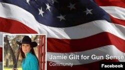 Hình ảnh trang facebook cá nhân của cô Jamie Gilt.