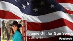Facebook page yang dikelola Jamie Gilt untuk mempromosikan hak-hak memiliki senjata api. Ironisnya, Gilt justru tertembak oleh putranya sendiri yang baru berusia 4 tahun (foto: dok).
