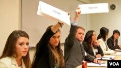 청년 모의 APEC 회의