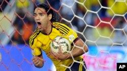 Cầu thủ Radamel Falcao của Colombia