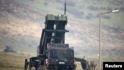 Kahramanmaraş yakınlarındaki Patriot Füze savunma sistemleri