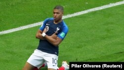 SPORTS: Coupe du Monde demi finale France-Belgique