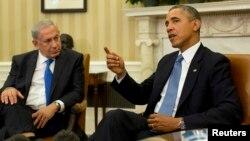 Isroil Bosh vaziri Benyamin Netanyaxu bugun Oq uyda AQSh prezidenti Barak Obama bilan uchrashdi.