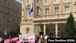 واشنگٹن میں کیوبا کا سفارتخانہ (فائل فوٹو)