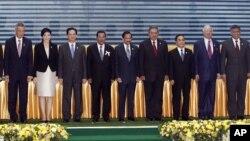 Лидеры стран-членов АСЕАН. Пномпень, Камбоджа. 18 ноября 2012 года