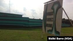 Le siège social de Sodeci, dans la ville ivoirienne de Bouaké, le 18 octobre 2017. (VOA/Sidiki Barro)