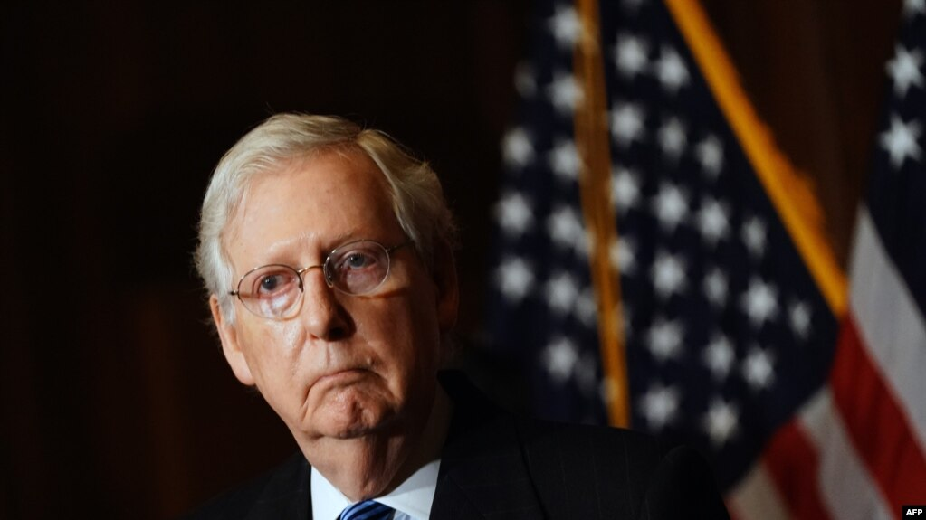 Mič Mekonel, lider republikanske većine u Senatu.