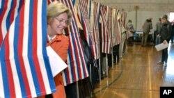 Американцы голосуют на президентских выборах