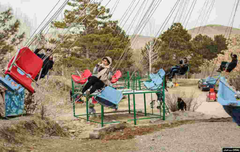 همهساله در روز نوروز خانوادهها برای تجلیل از نوروز به بندقرغه، یکی از مکانهای تفریحی شهر کابل میروند.