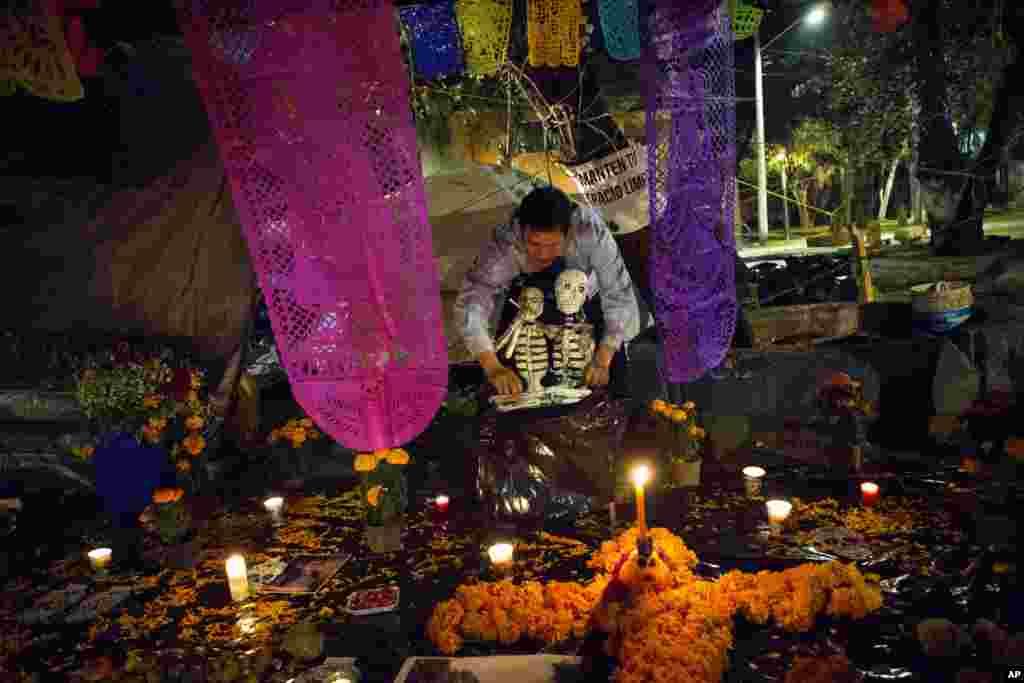 مراسم روز مردگان در مکزیک