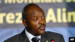 President w'Uburundi Pierre Nkurunziza kw'itohozwa ry'ubwicanyi bwabaye mu Gatumba