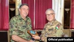 Kosovo, Guglielmo Luigi Miglietta and Lubisha Dikovic