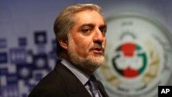 Afg'oniston sobiq tashqi ishlar vaziri Abdulla Abdulla. Prezidentlikka asosiy da'vogarlardan