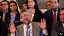 Ramos Allup calificó de invalorable la actitud del secretario general de la OEA, Luis Almagro, que se ha enfrentado públicamente al presidente venezolano Nicolás Maduro.