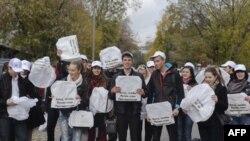 Активисты группы ВКонтакте «Мне реально нравится Путин!»