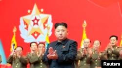 Pemimpin Korea Utara Kim Jong-un di Pyongyang, 22 November 2013 (Foto: dok).