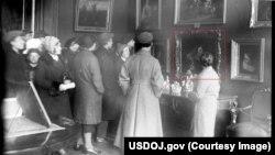Фото надано Мін'юстом США. Картина викрадена з Києва німецькими нацистами у 1943-му році
